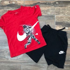 Boys Nike summer outfit